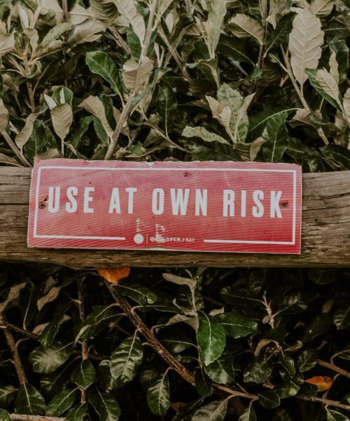 risk tolerance, use at own risk, portfolio risk, manage risk